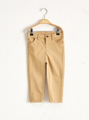 Cream - Baby Pants - LC WAIKIKI