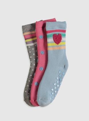 Blue - Girls` Socks - LC WAIKIKI