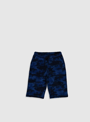 Navy Blue - Boys` Shorts