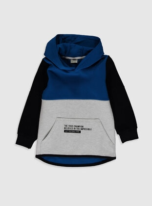 Blue - Boys` Sweatshirt - LC WAIKIKI