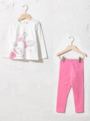 Ecru - Baby Suit - LC WAIKIKI