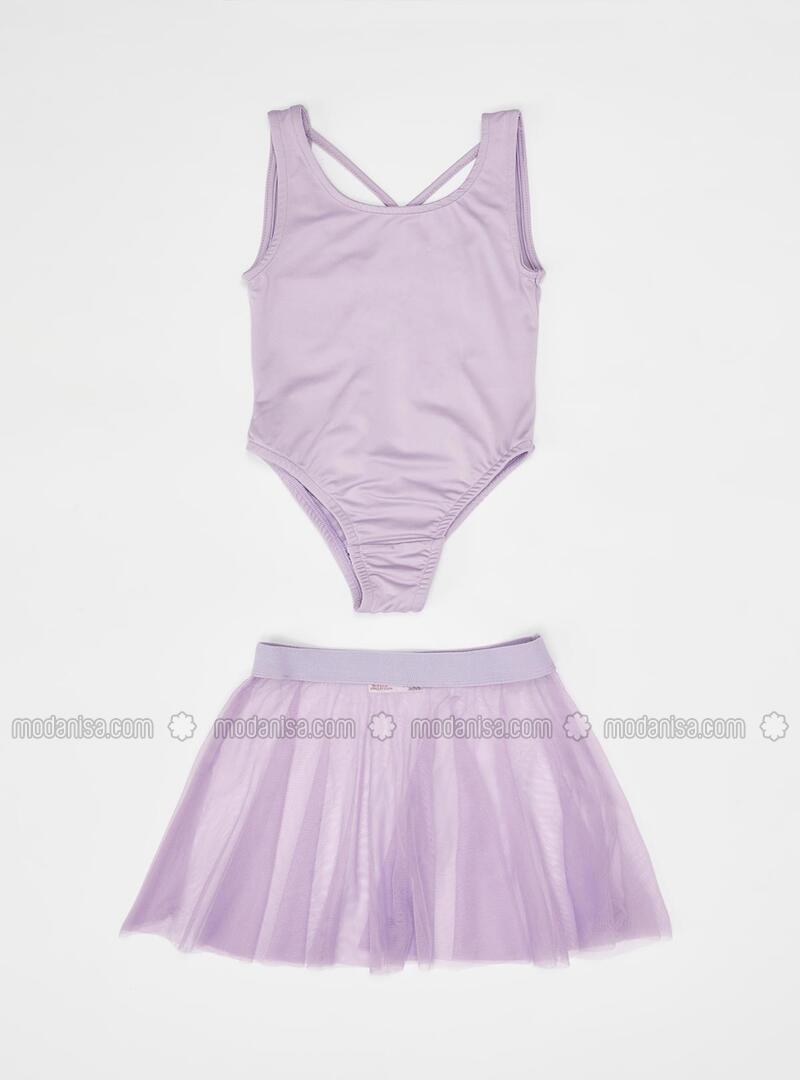 Purple - Girls` Suit