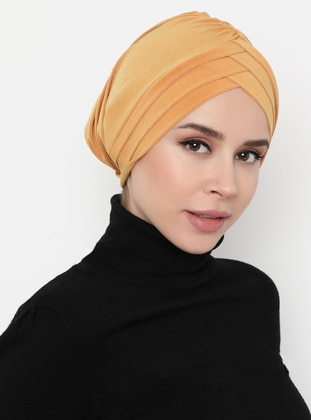 Gold - Plain - Bonnet