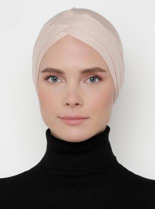 Beige - Plain - Bonnet