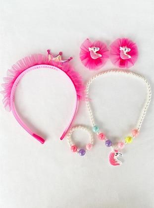 Pink - Accessories Set