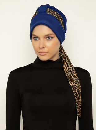 Saxe - Leopard - Instant Scarf