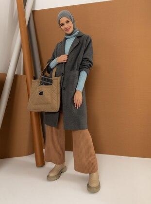 Gray - Gray - Fully Lined - Shawl Collar - Gray - Fully Lined - Shawl Collar - Gray - Fully Lined - Shawl Collar - Gray - Fully Lined - Shawl Collar - Gray - Fully Lined - Shawl Collar - Coat