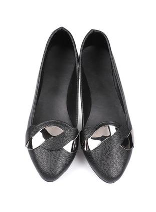 Black - Flat - Flat Shoes - Laurel Shoes