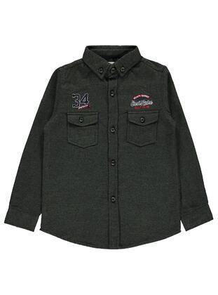Green - Boys` Shirt - Civil