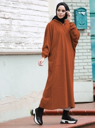 Terra Cotta - Unlined - Knit Tunics