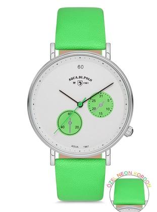 White - Green - Watch