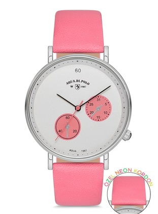 White - Pink - Watch