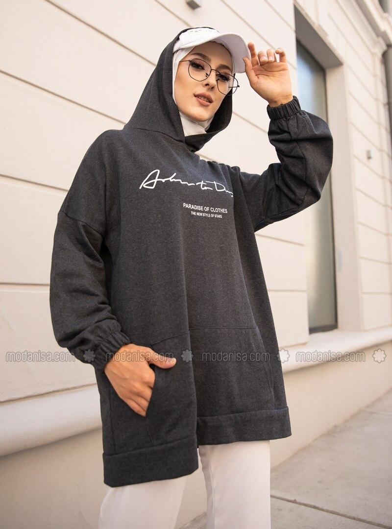 - Anthracite - Sweat-shirt