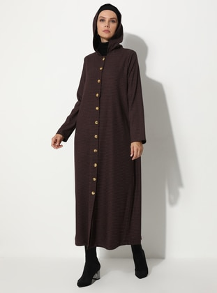 Maroon - Multi - Unlined -  - Coat