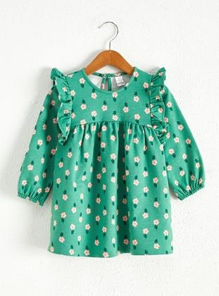 Green - Baby Dress - LC WAIKIKI
