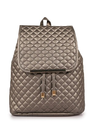 Silver - Backpack - Backpacks