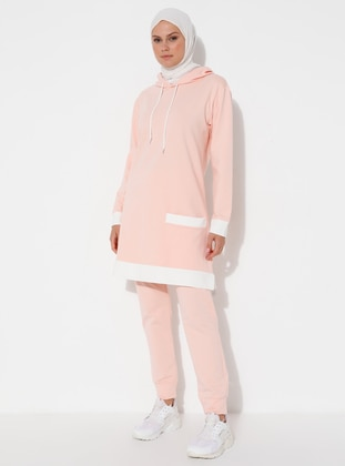 Light Pink -  - Tracksuit Set