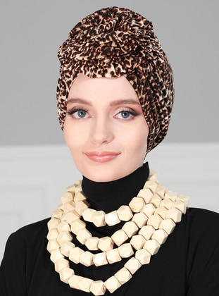 Leopard - Leopard - - Instant Scarf