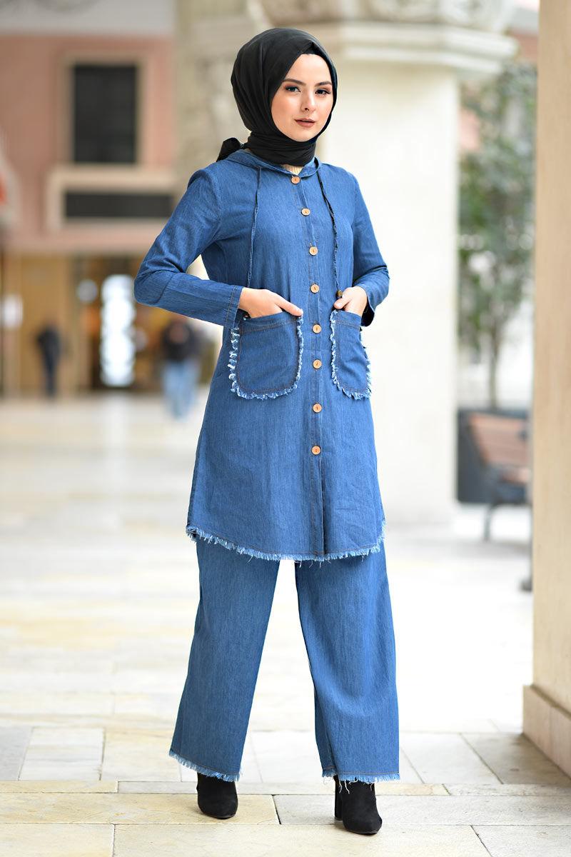 Suit Tesettür Dünyası Blue