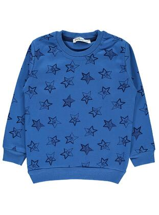 Blue - Boys` Sweatshirt - Civil