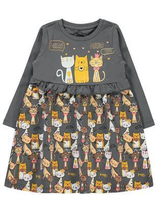 Anthracite - Girls` Dress - Civil