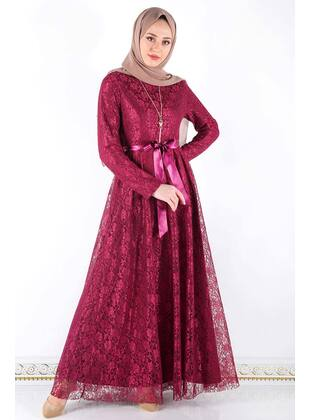 Multi - Muslim Plus Size Evening Dress