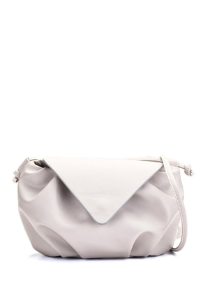 Gray - Satchel - Shoulder Bags