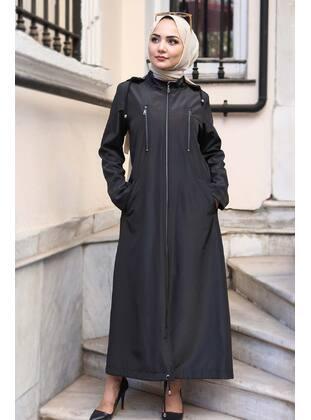 Black - Coat - Tesettür Dünyası