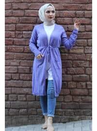 Lilac - Knit Cardigans