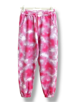 Pink - Multi -  - Tracksuit Bottom