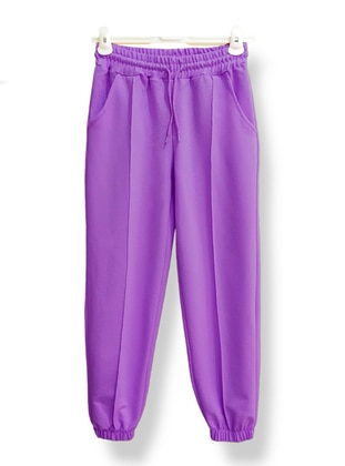 Purple -  - Tracksuit Bottom