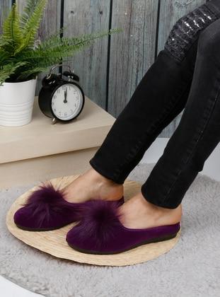 Sandal - Purple - Home Shoes
