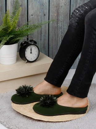 Sandal - Khaki - Home Shoes