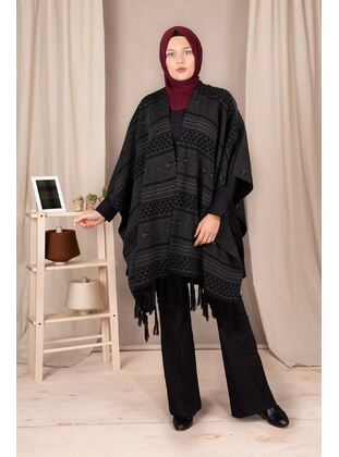 Anthracite - Plus Size Knitwear