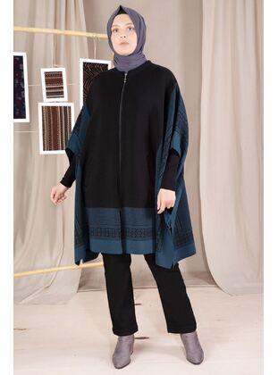 Petrol - Plus Size Knitwear