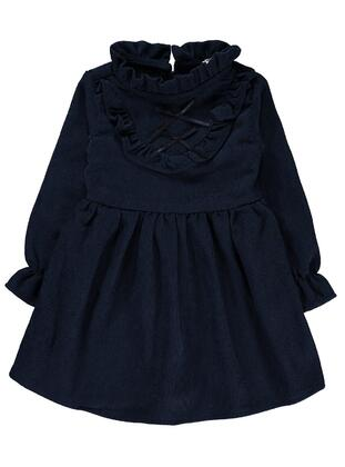 Navy Blue - Girls` Dress - Civil