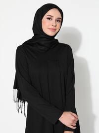 Siyah - Astarsız Kumaş - Kostüm