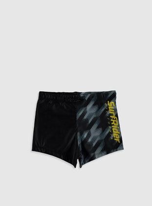 Black - Boys` Swimsuit - LC WAIKIKI
