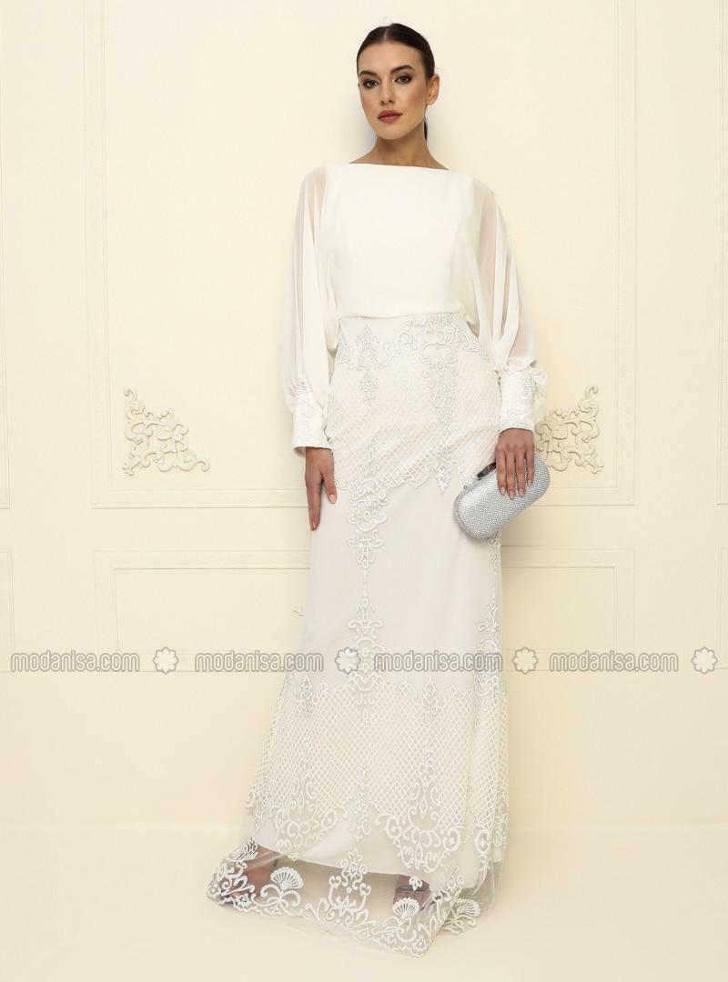 Weiße Kleider Abendmode  dallas 2021