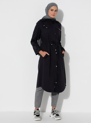 Smoke - Unlined -  - Trench Coat