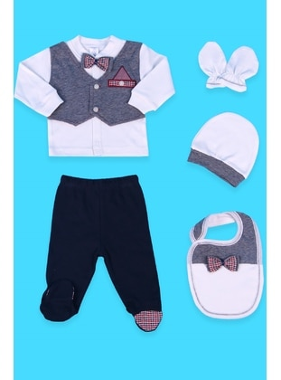 Navy Blue - Baby Care-Pack - Breeze Girls&Boys
