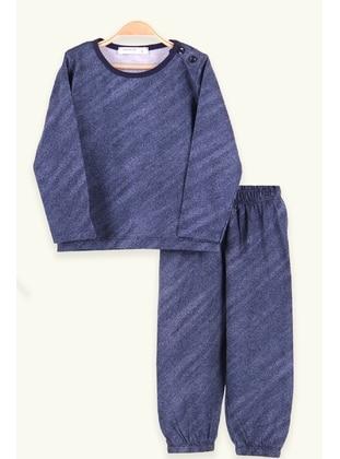 Navy Blue - Boys` Pyjamas