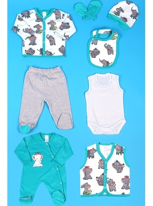 Green - Baby Care-Pack - Breeze Girls&Boys