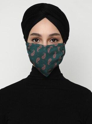 Multi - Green - Mask