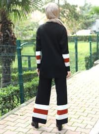 Black - Unlined - Acrylic - Cotton - - Knit Suits