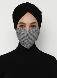 Multi - White - Black - Mask