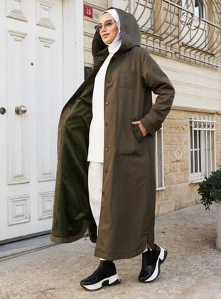Khaki - Trench Coat