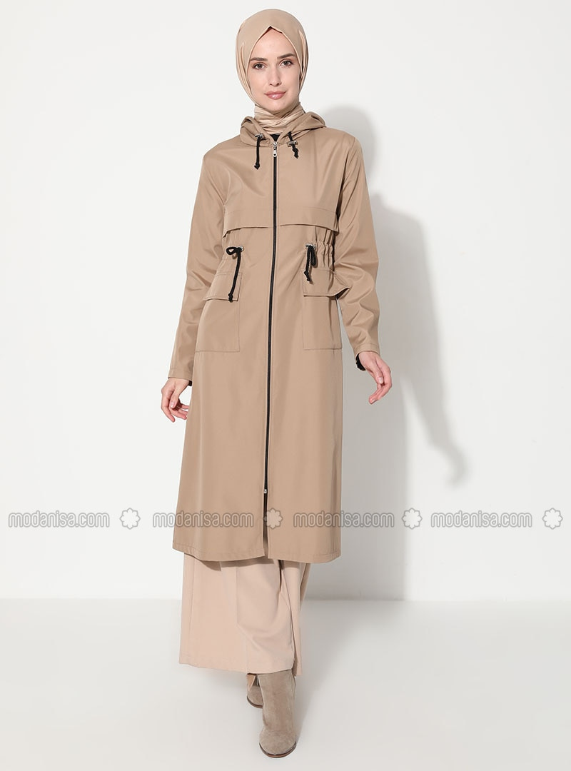 Mink - Unlined - Trench Coat