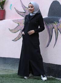 Black -  - Abaya