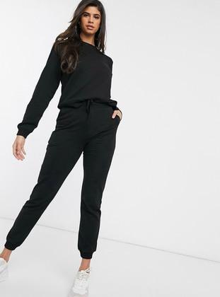 Black -  - Suit - Nare